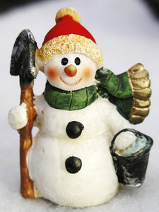 Snowman: Christmas snowman decoration