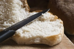 Knife on bread: food essentails