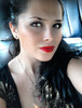 ANDREEA MS: beautiful young  woman interior car